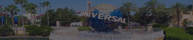 Entrance of Universal Orlando Resort in Orlando, Florida