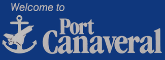 Port Canaveral welcome sign