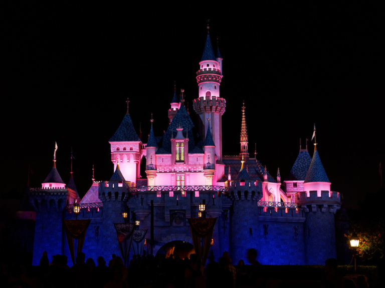sleeping-beauty-castle-night