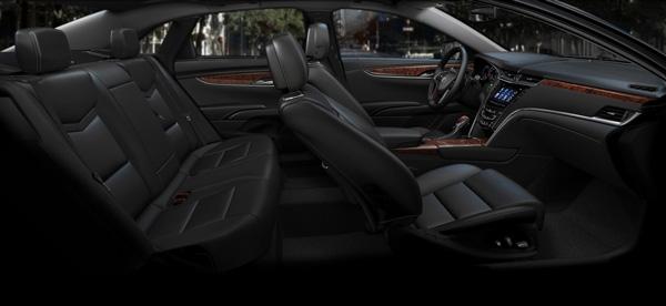 Inside a Cadillac XTS Sedan