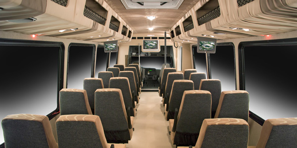 Inside a Luxury Coach